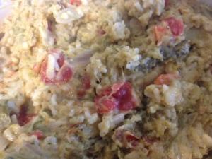 Cheesy Asparagus Rice
