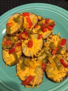 potato pepper nachos